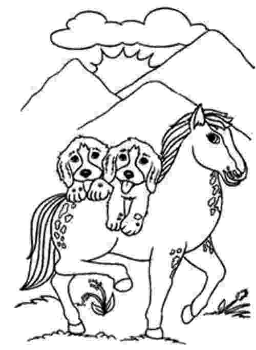 coloring pictures of dogs and horses dog coloring pages hundreds of coloring pages sheets pictures coloring and dogs horses of
