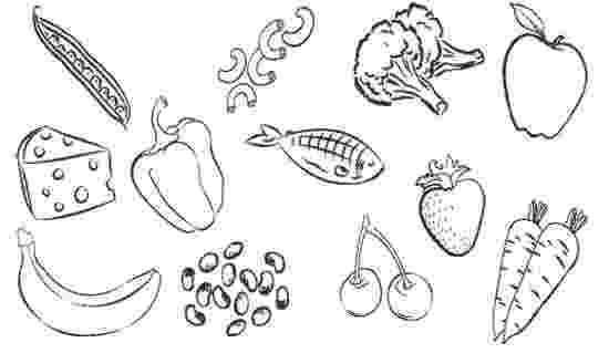 coloring pictures of food free printable food coloring pages for kids of pictures coloring food