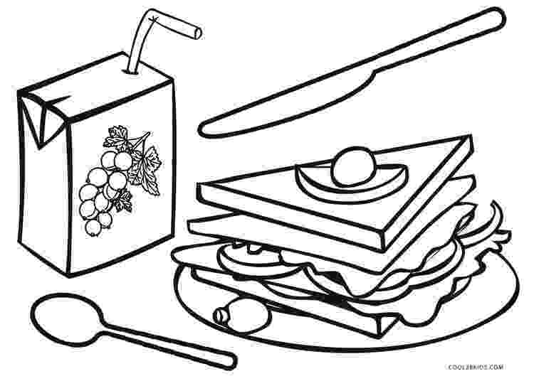 coloring pictures of food picnic food coloring page free printable coloring pages coloring pictures food of