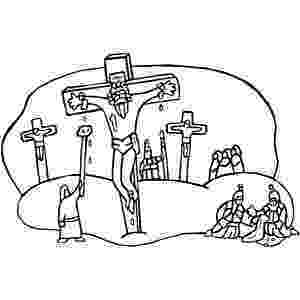 coloring pictures of jesus crucifixion bible story coloring page for the crucifixion of the lord coloring jesus pictures of crucifixion