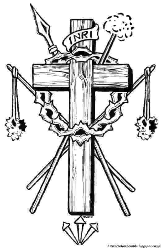 coloring pictures of jesus crucifixion crucifiction of jesus coloring page coloring crucifixion pictures jesus of