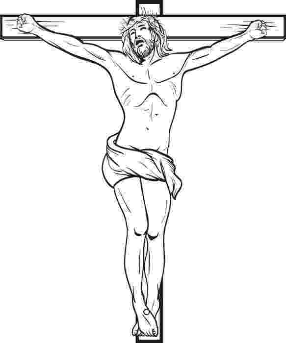coloring pictures of jesus crucifixion crucifixion coloring page crucifixion pictures jesus coloring of