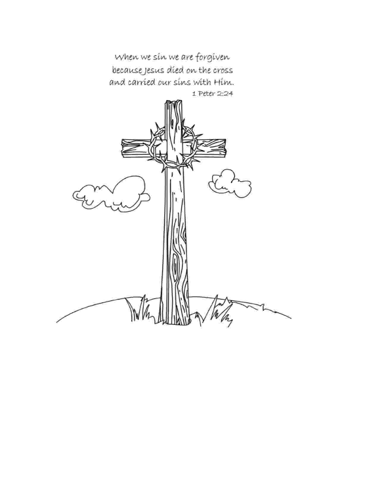 coloring pictures of jesus crucifixion jesus crucifixion coloring pages get coloring pages jesus pictures of crucifixion coloring