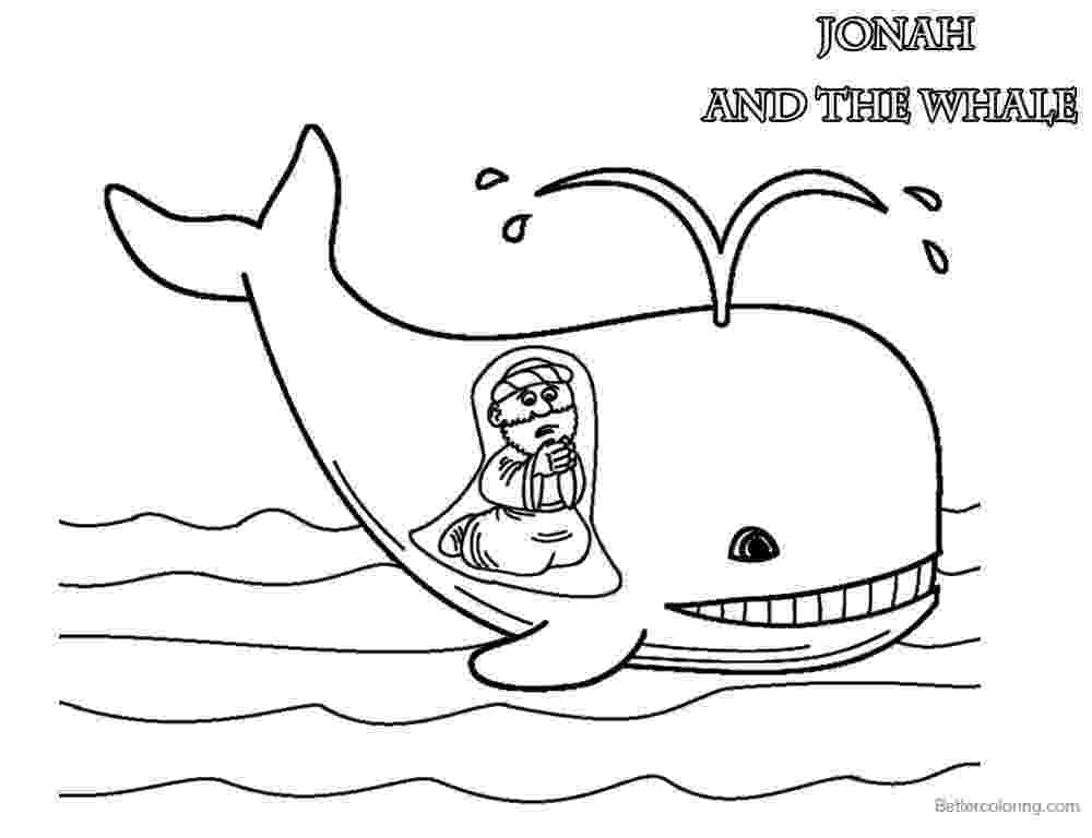 coloring pictures of jonah and the whale free printable jonah and the whale coloring pages for kids the pictures whale jonah and of coloring
