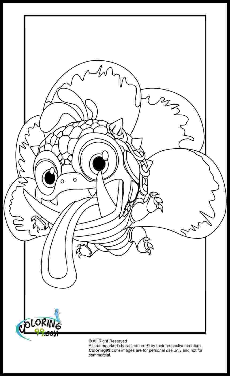 coloring pigs skylanders magic element coloring pages minister coloring coloring pigs