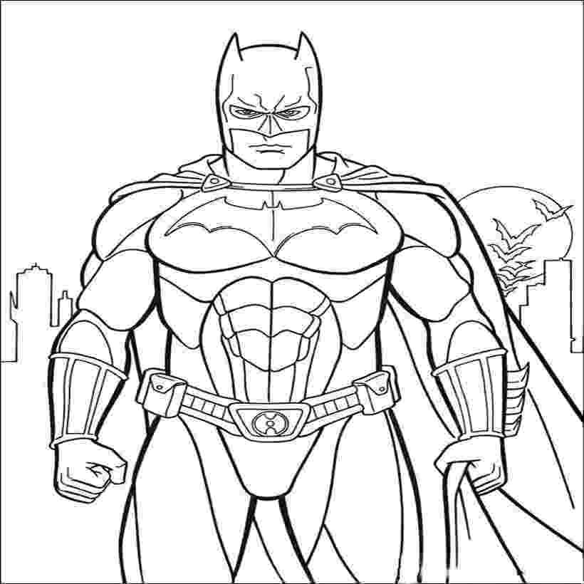 coloring sheet batman batman the superpower coloring pages hellokidscom batman coloring sheet