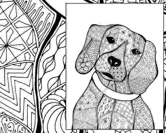 coloring sheets of dogs zentangle dog colouring page animal colouring zentangle dogs of sheets coloring