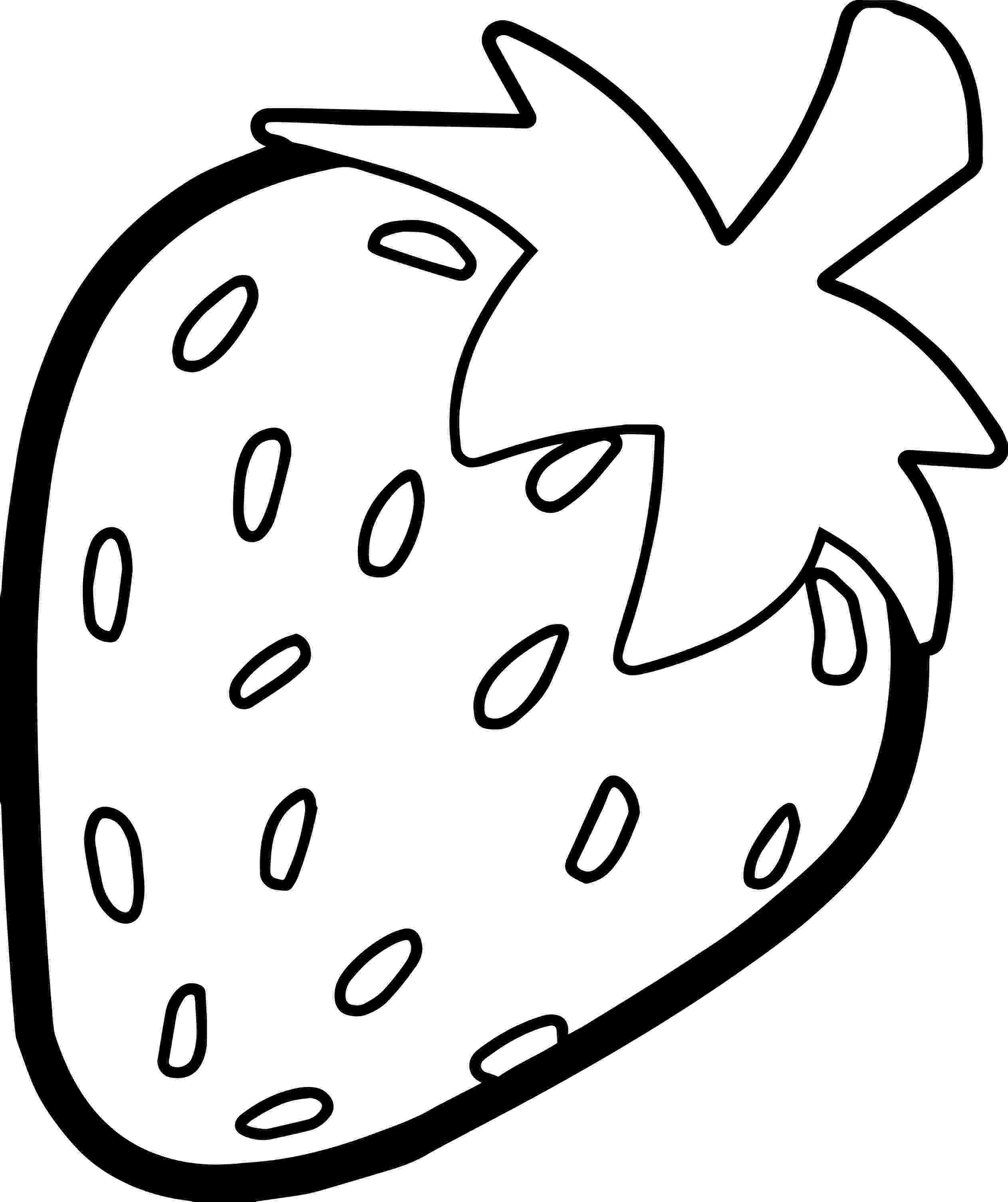 coloring strawberry strawberry bold outline coloring page wecoloringpagecom coloring strawberry
