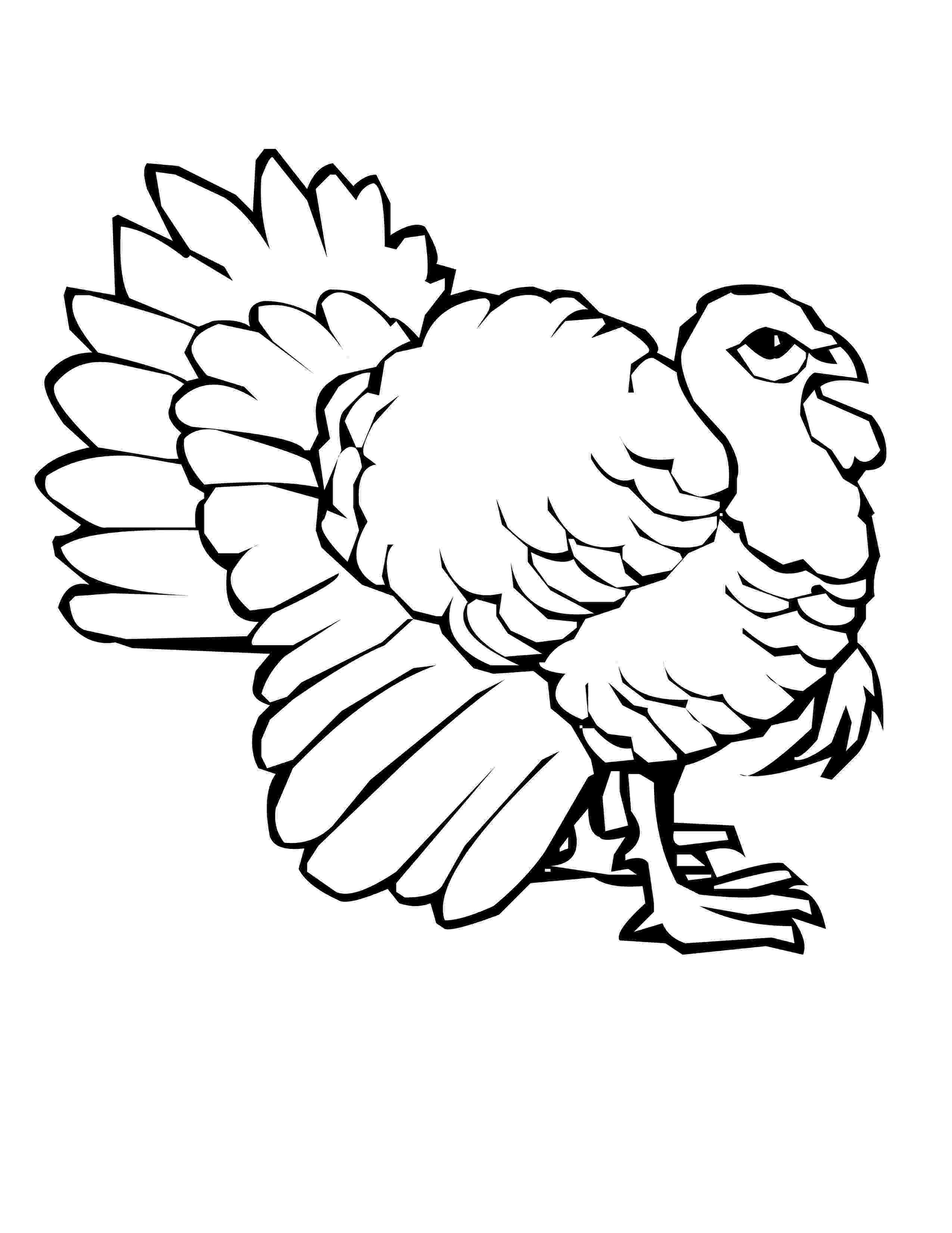 coloring turkey free printable turkey coloring pages for kids turkey coloring