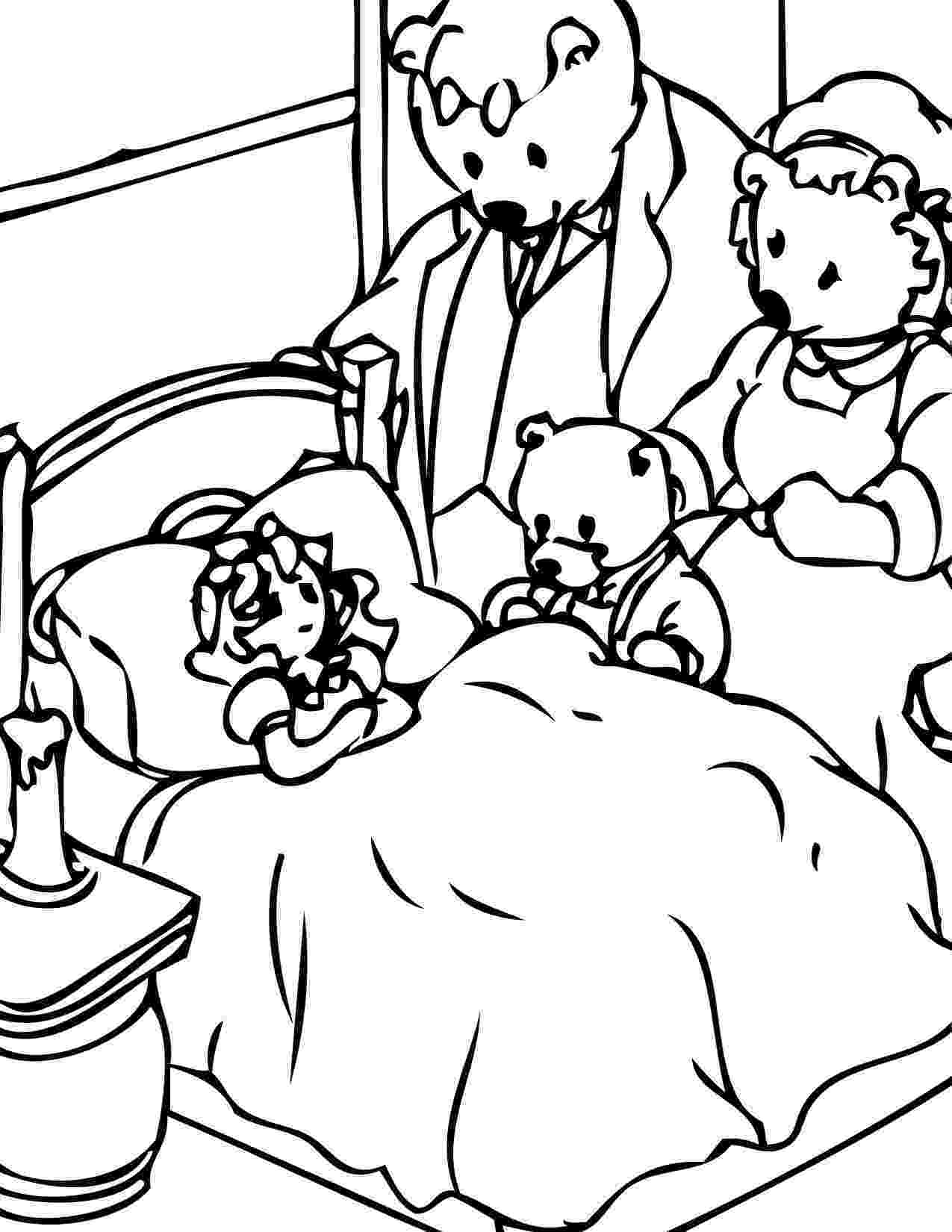 colour by number goldilocks goldilocks and the three bears coloring pages free at number by goldilocks colour