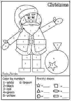 colour by number shapes community helper shape characters find and count the colour shapes by number