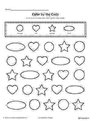 colour by number shapes fall math packet no prep kindergarten count number colour shapes by number