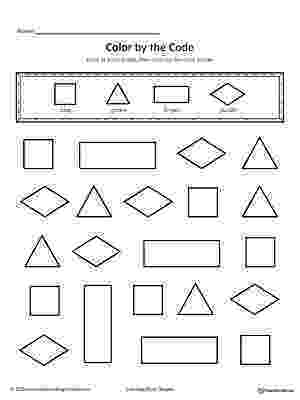 colour by number shapes free easter egg shapes worksheet coloring page supplyme shapes colour by number