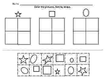colour by number shapes pin on preschool activities colour by shapes number
