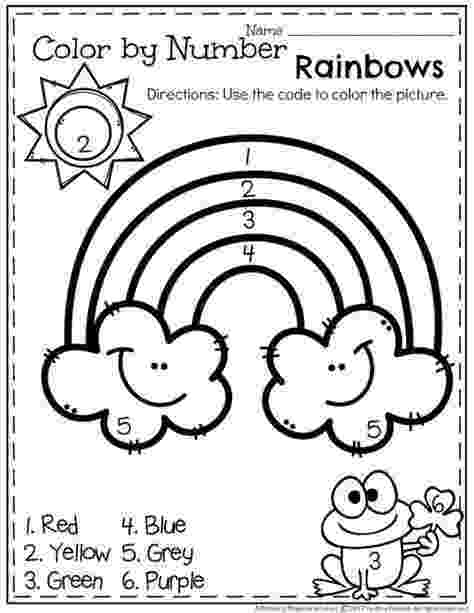 colour by number shapes printable st patrick39s day shapes coloring worksheet colour by number shapes
