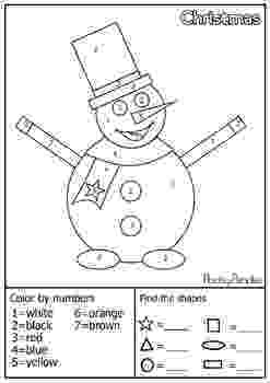 colour by number shapes shape worksheets geometry worksheets kindergarten shapes number by colour