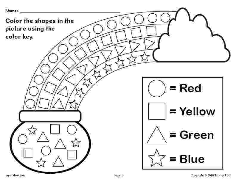 colour by number shapes summer color by number worksheets mamas learning corner by shapes number colour