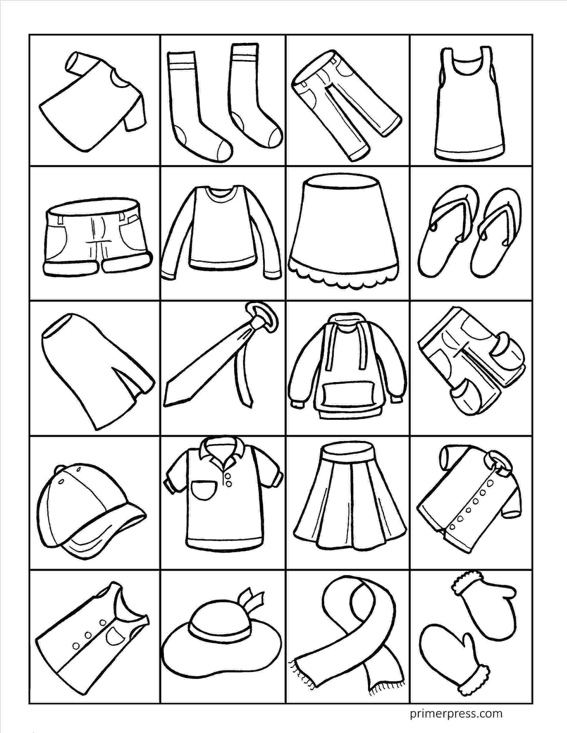 colouring clothes enjoyable ideas clothes coloring pages winter page free colouring clothes