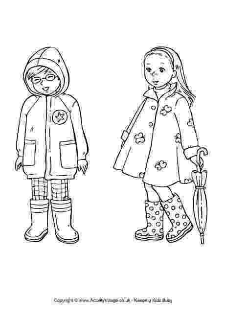 colouring clothes spring clothing colouring page kid39s spring coloring colouring clothes
