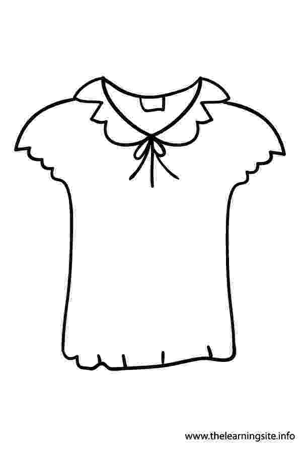colouring clothes the learning site august 2012 clothes colouring