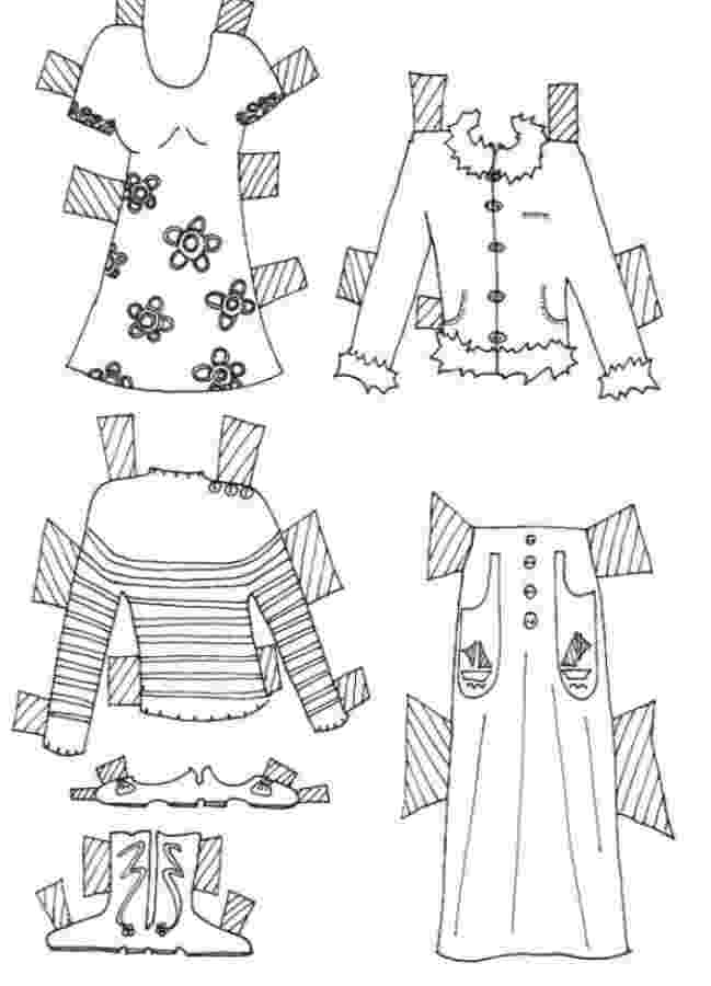 colouring clothes various clothes coloring page free printable coloring pages colouring clothes