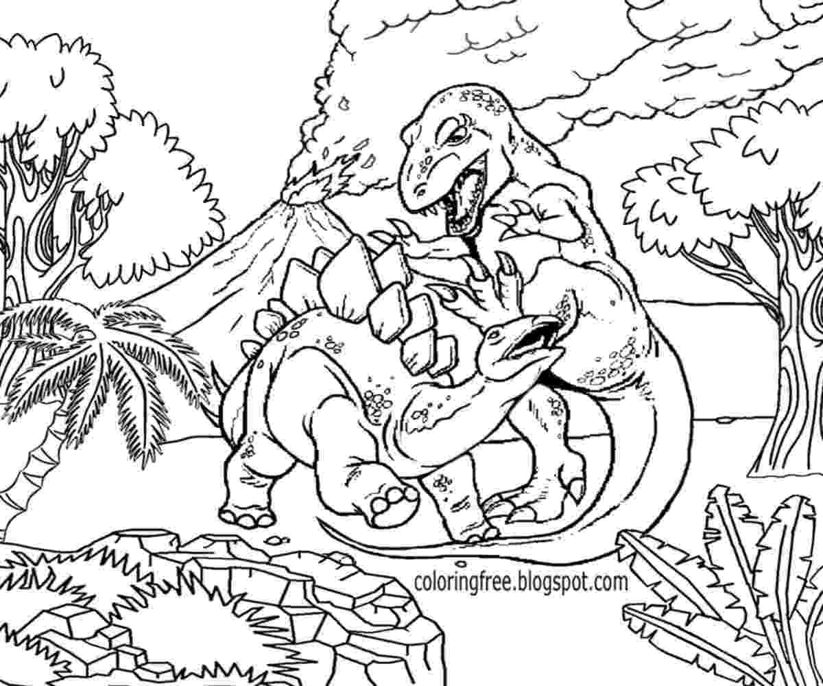 colouring dinosaur extinct animals 36 printable dinosaur coloring pages colouring dinosaur