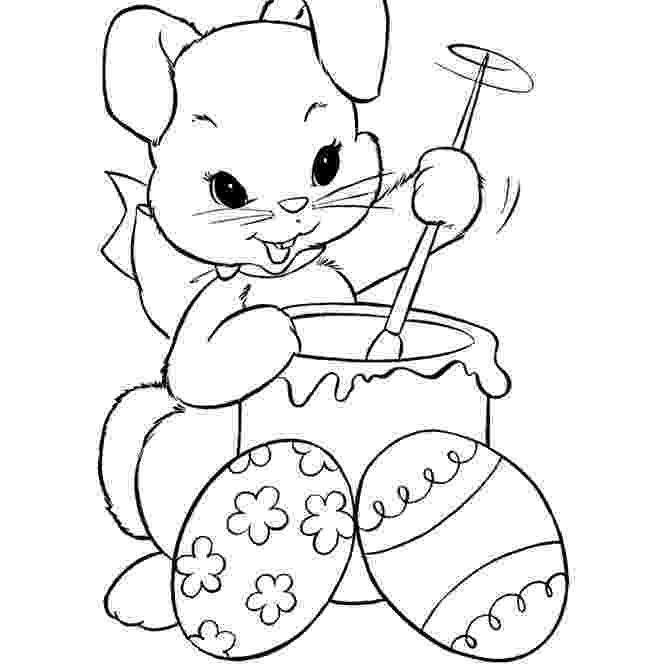 colouring easter bunny 9 places for free easter bunny coloring pages colouring easter bunny
