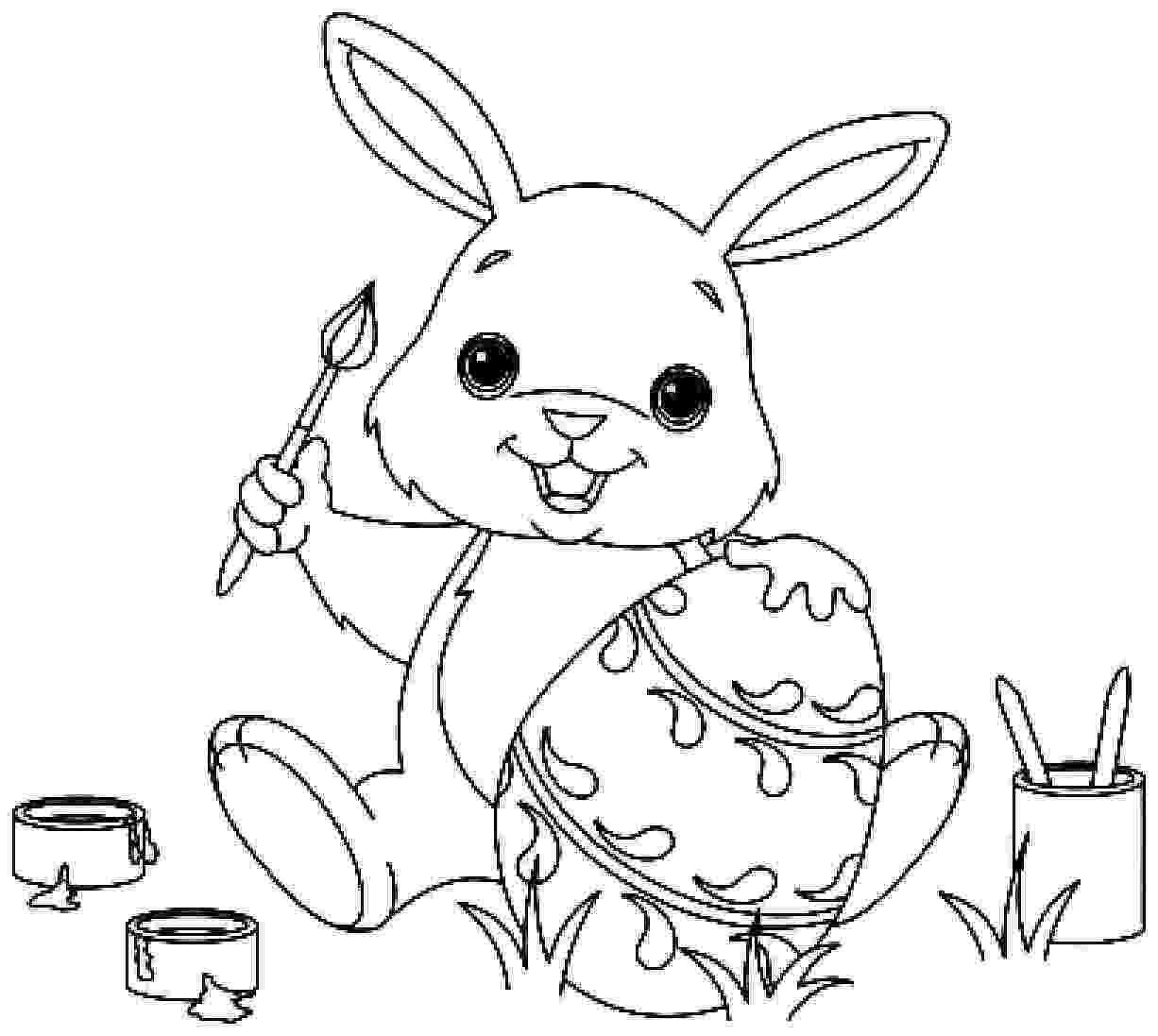 colouring easter bunny easter bunny coloring pages 360coloringpages easter colouring bunny