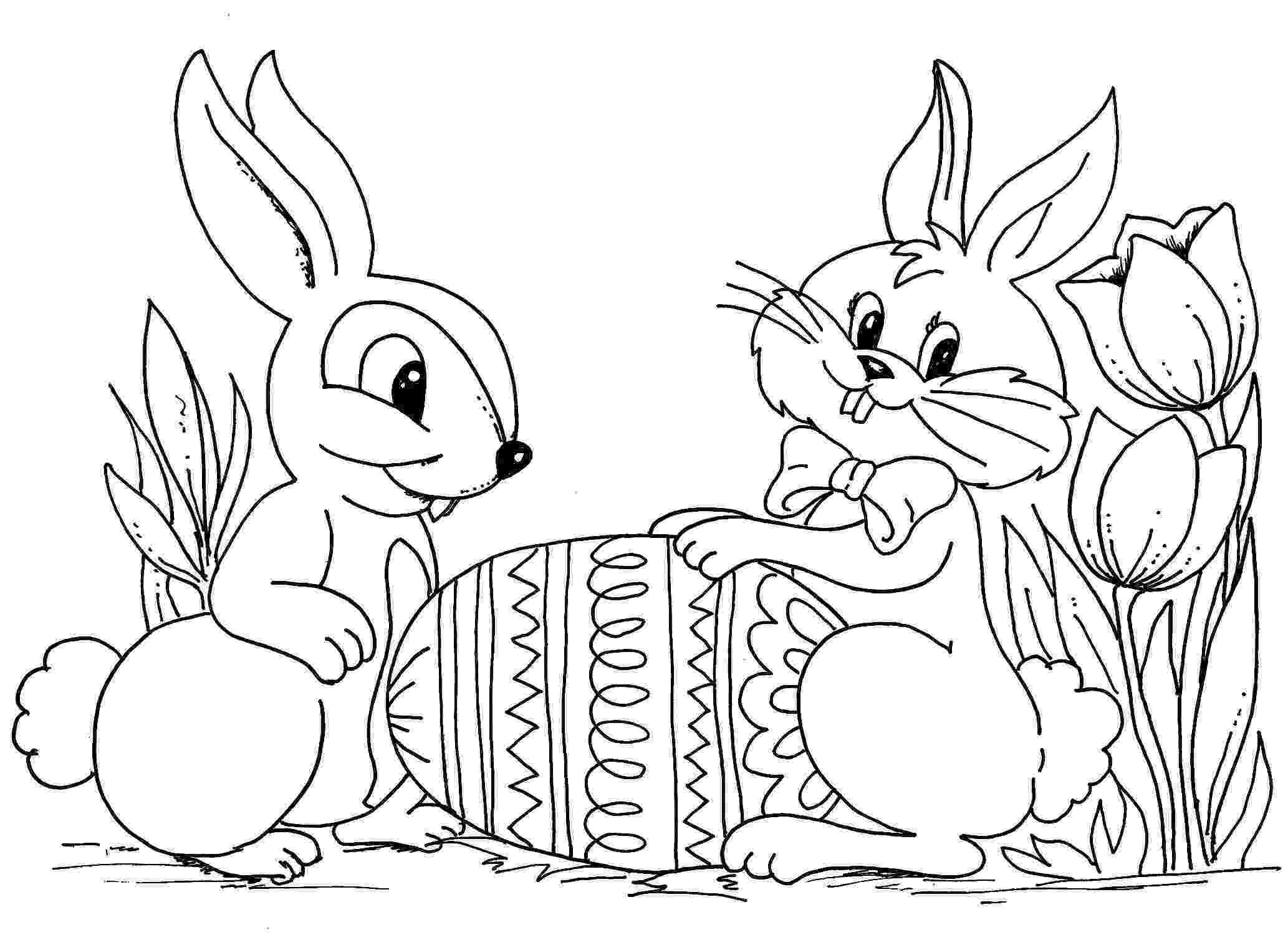 colouring easter bunny girl easter bunny coloring pages hd background 9 hd bunny colouring easter