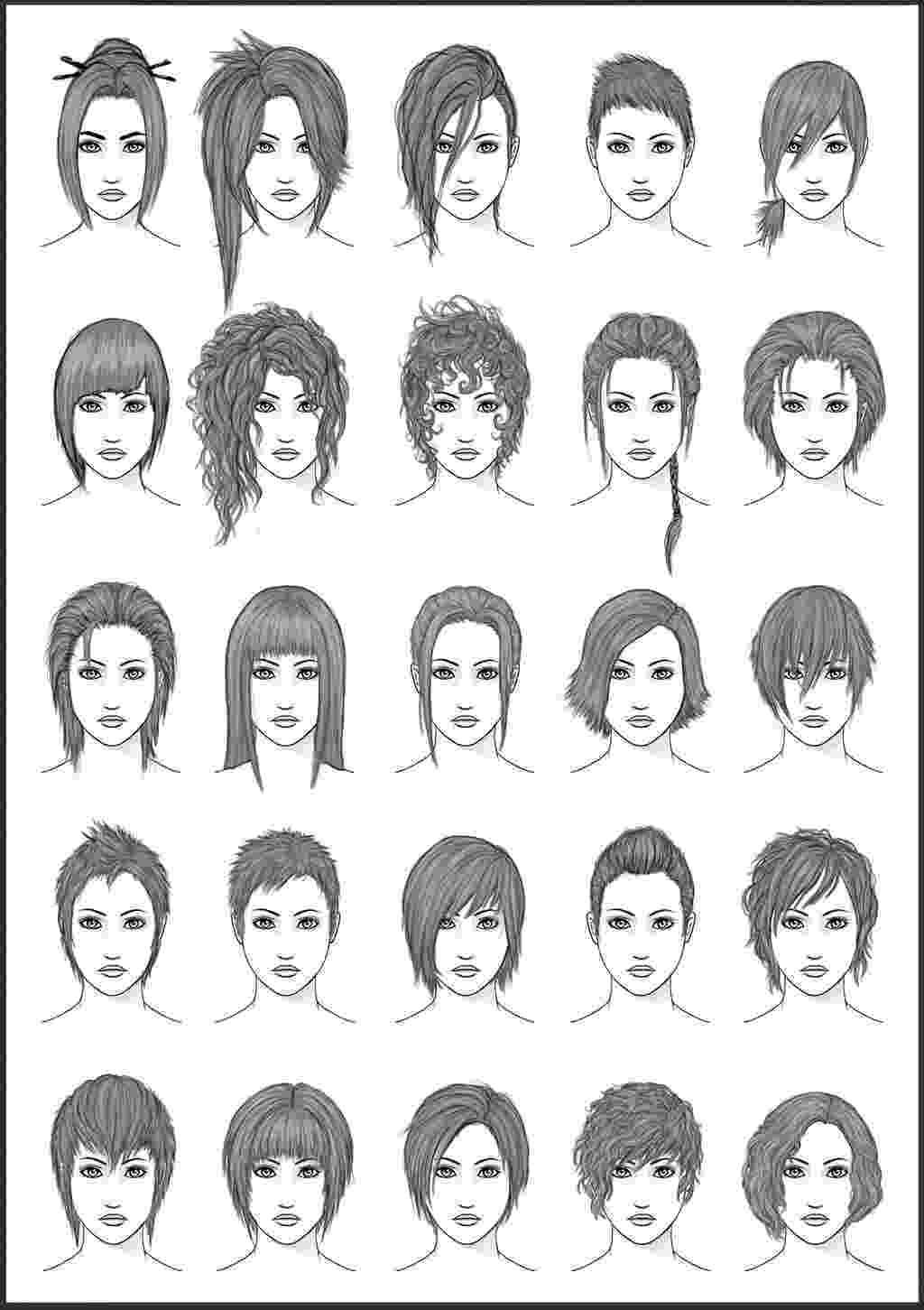 colouring ideas for short hair spiky hair anime guy coloring pages for ideas colouring hair short