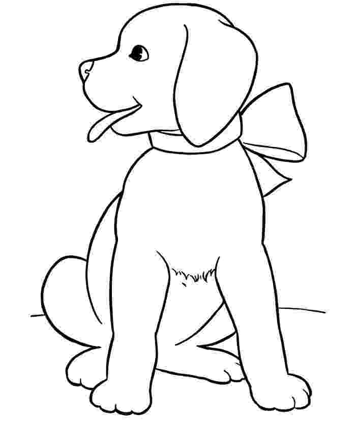 colouring page of dog printable dogs coloring pages to kids colouring page of dog
