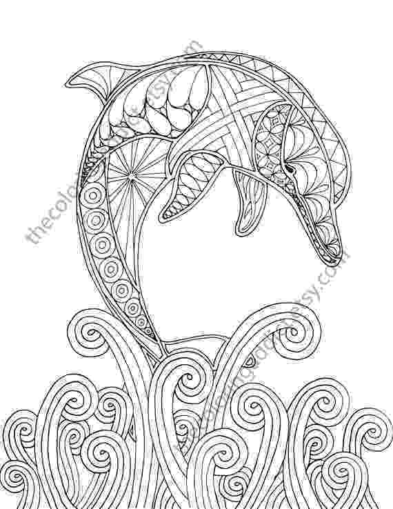 colouring pages adults dolphin coloring page adult coloring sheet by adults colouring pages