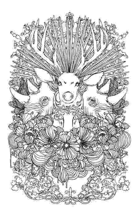 colouring pages adults stunning wild animals coloring page favecraftscom adults colouring pages