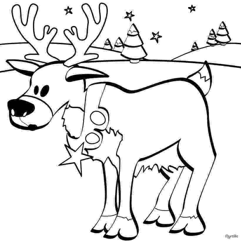 colouring pages christmas reindeer 13 christmas reindeer coloring pages gtgt disney coloring pages christmas reindeer colouring pages