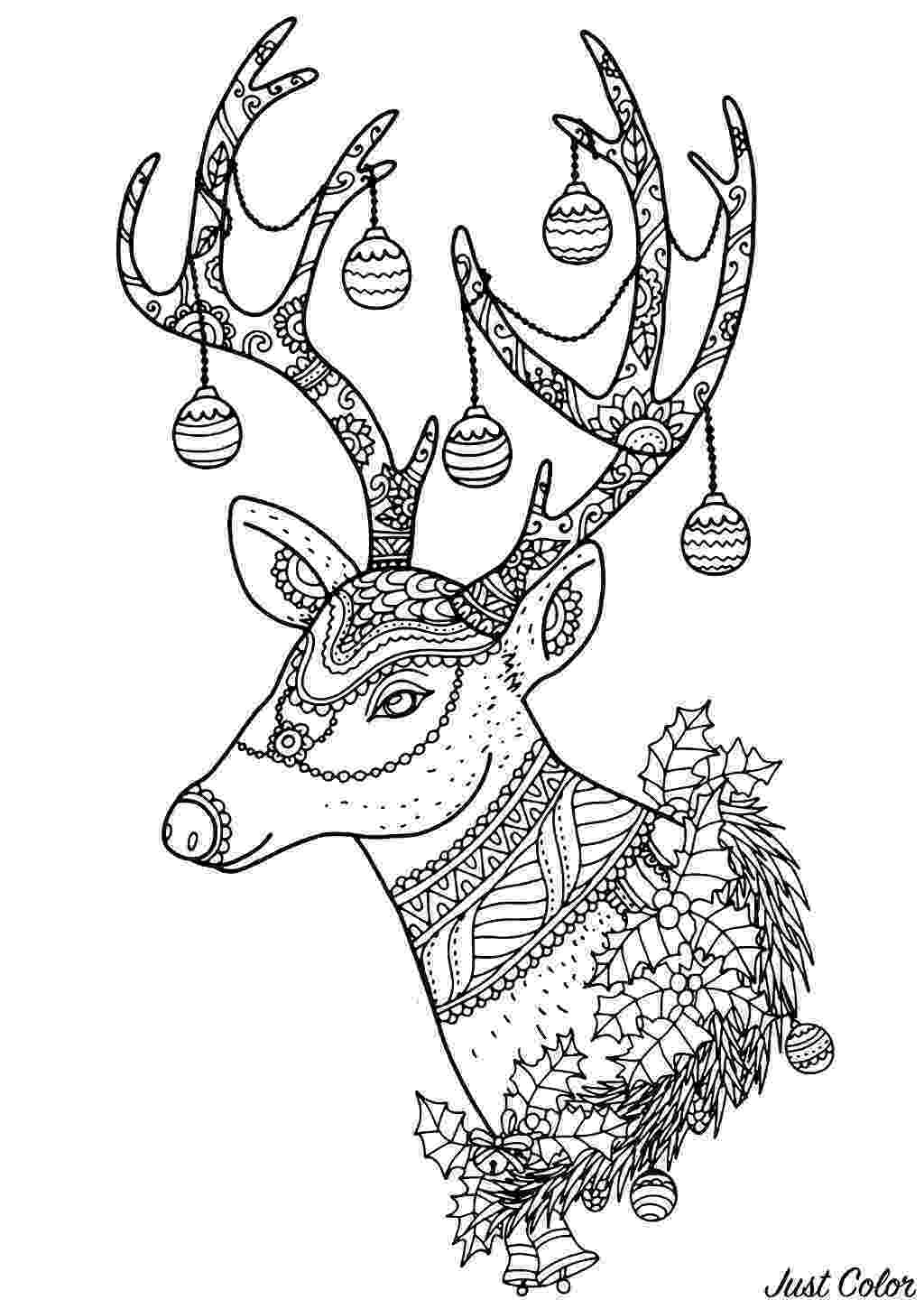 colouring pages christmas reindeer 13 christmas reindeer coloring pages gtgt disney coloring pages pages reindeer colouring christmas
