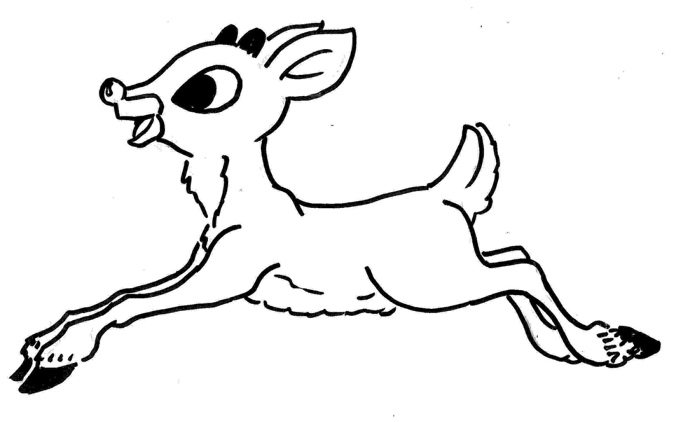 colouring pages christmas reindeer christmas reindeer coloring pages reindeer pages colouring christmas