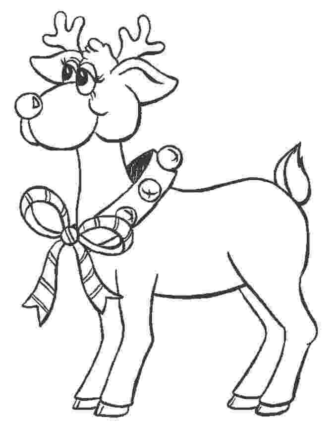 colouring pages christmas reindeer christmas reindeer fawns coloring pages hellokidscom pages christmas reindeer colouring