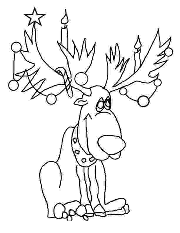 colouring pages christmas reindeer free printable reindeer coloring pages for kids christmas pages colouring reindeer