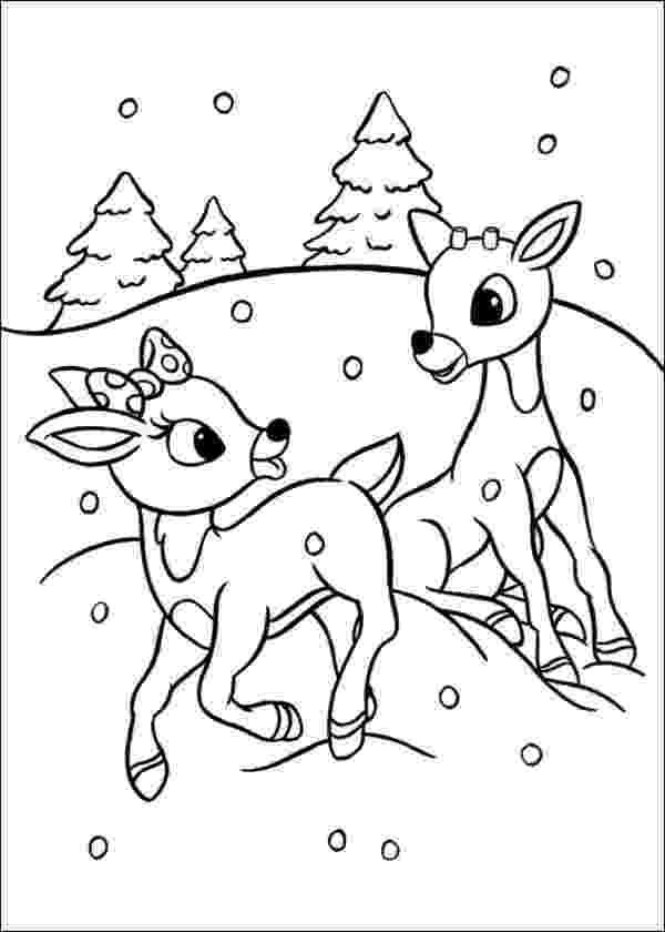 colouring pages christmas reindeer reindeer coloring pages getcoloringpagescom colouring pages christmas reindeer