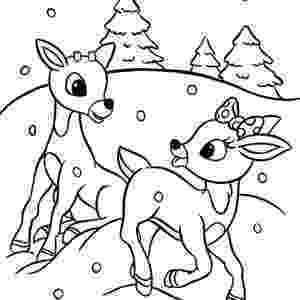 colouring pages christmas reindeer reindeer coloring pages santa reindeer coloring pages colouring christmas reindeer pages