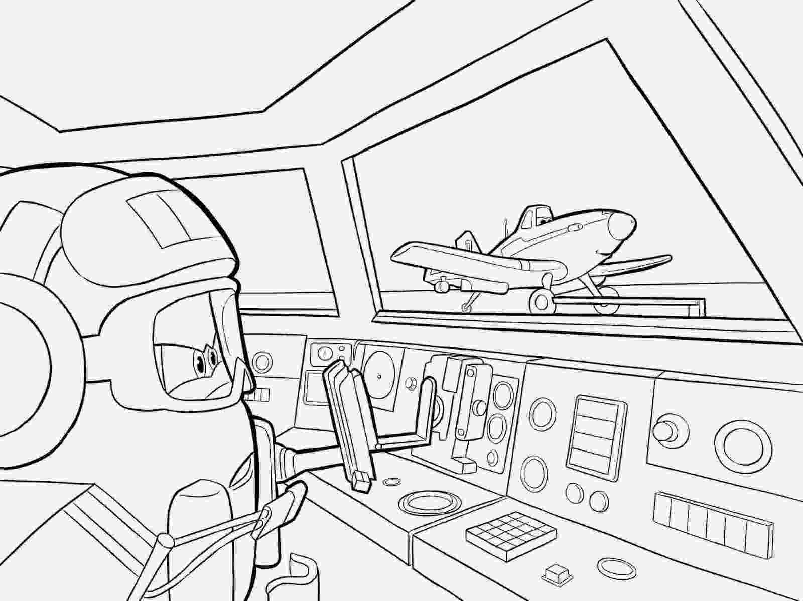 colouring pages disney planes dusty crophopper coloring page free printable coloring colouring planes disney pages