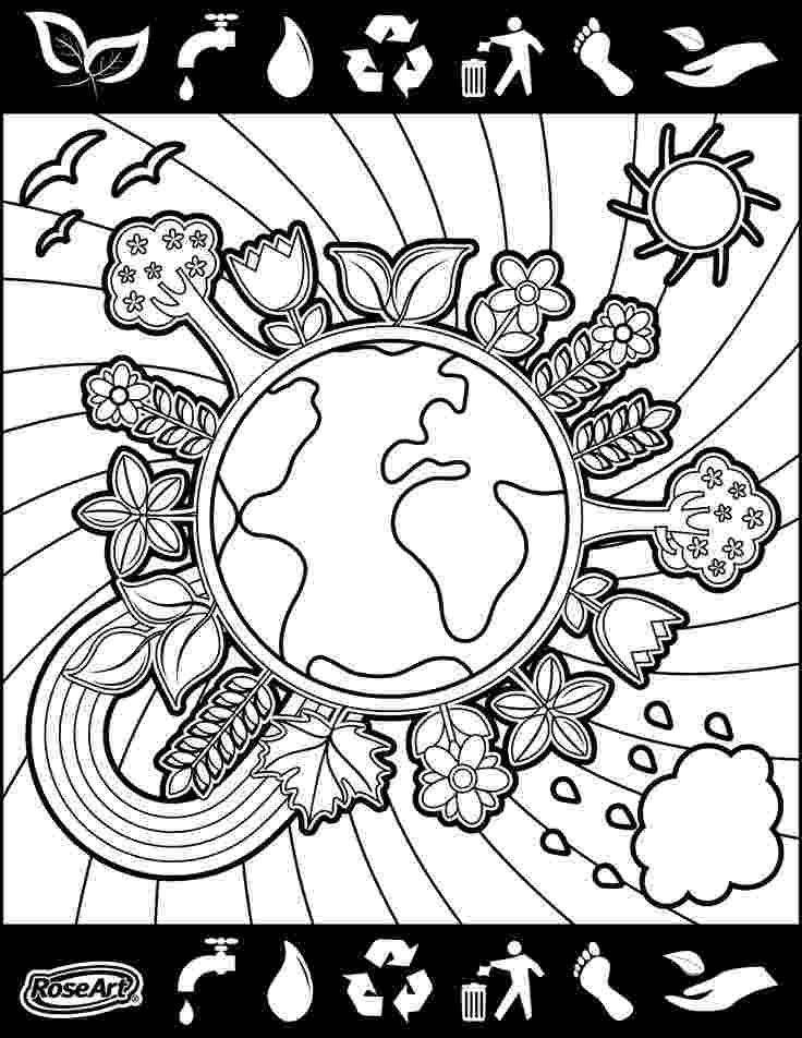 colouring pages for environment environmental coloring sheets minnesota pollution environment pages colouring for
