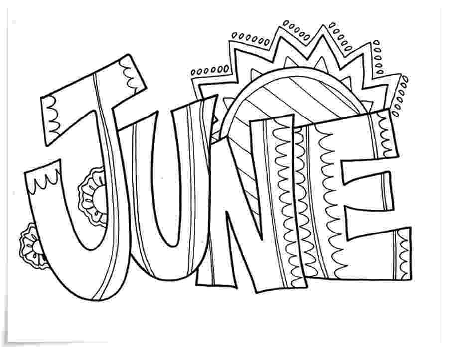 colouring pages for june 15 free june coloring pages to print june for colouring pages