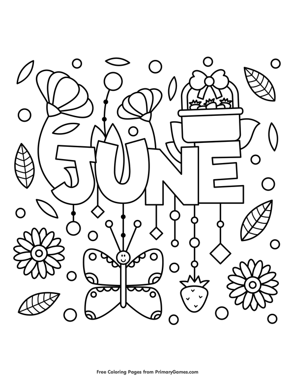 colouring pages for june j is for june coloring page twisty noodle pages for june colouring