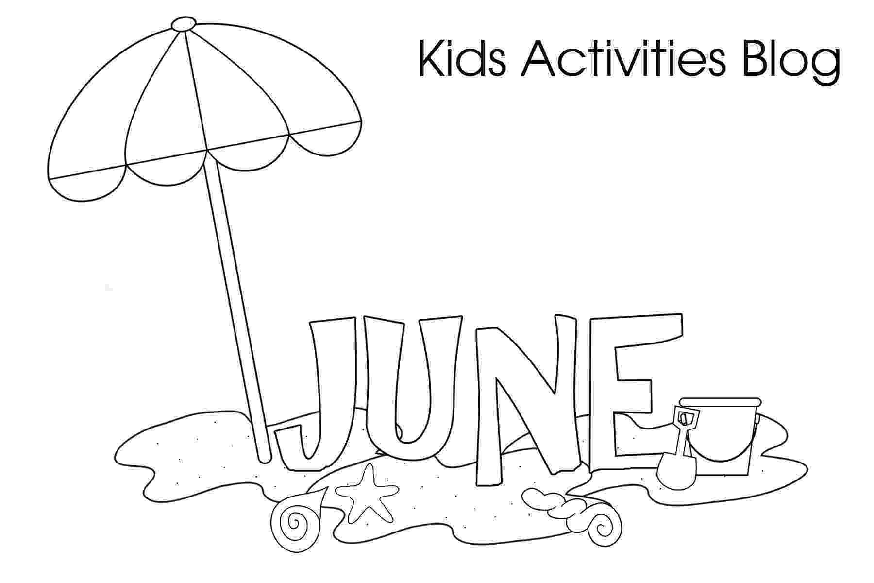 colouring pages for june june coloring pages for kids stock illustration june colouring pages for