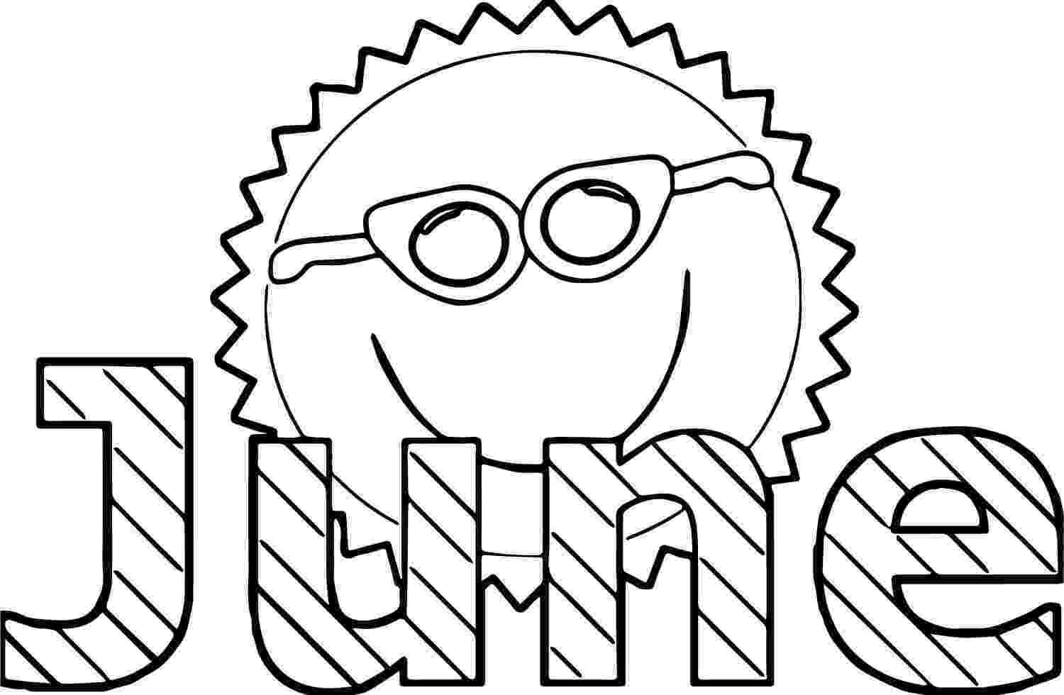 colouring pages for june june coloring pages to download and print for free colouring for june pages