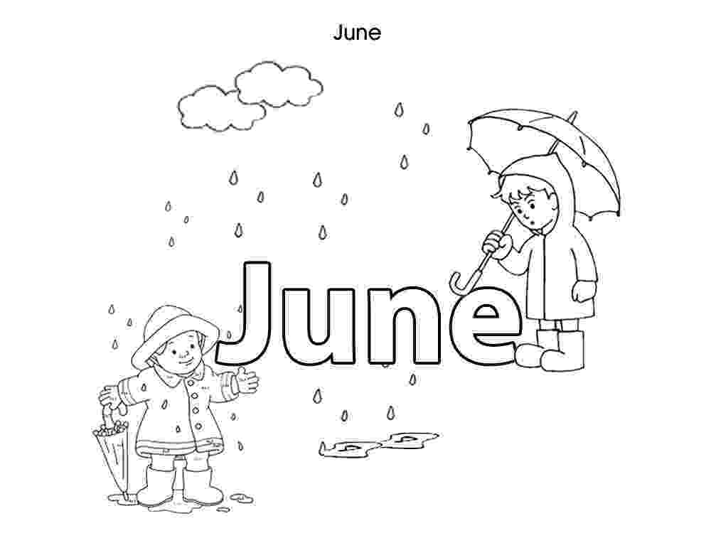 colouring pages for june summer month june coloring sheet coloring page june for pages colouring