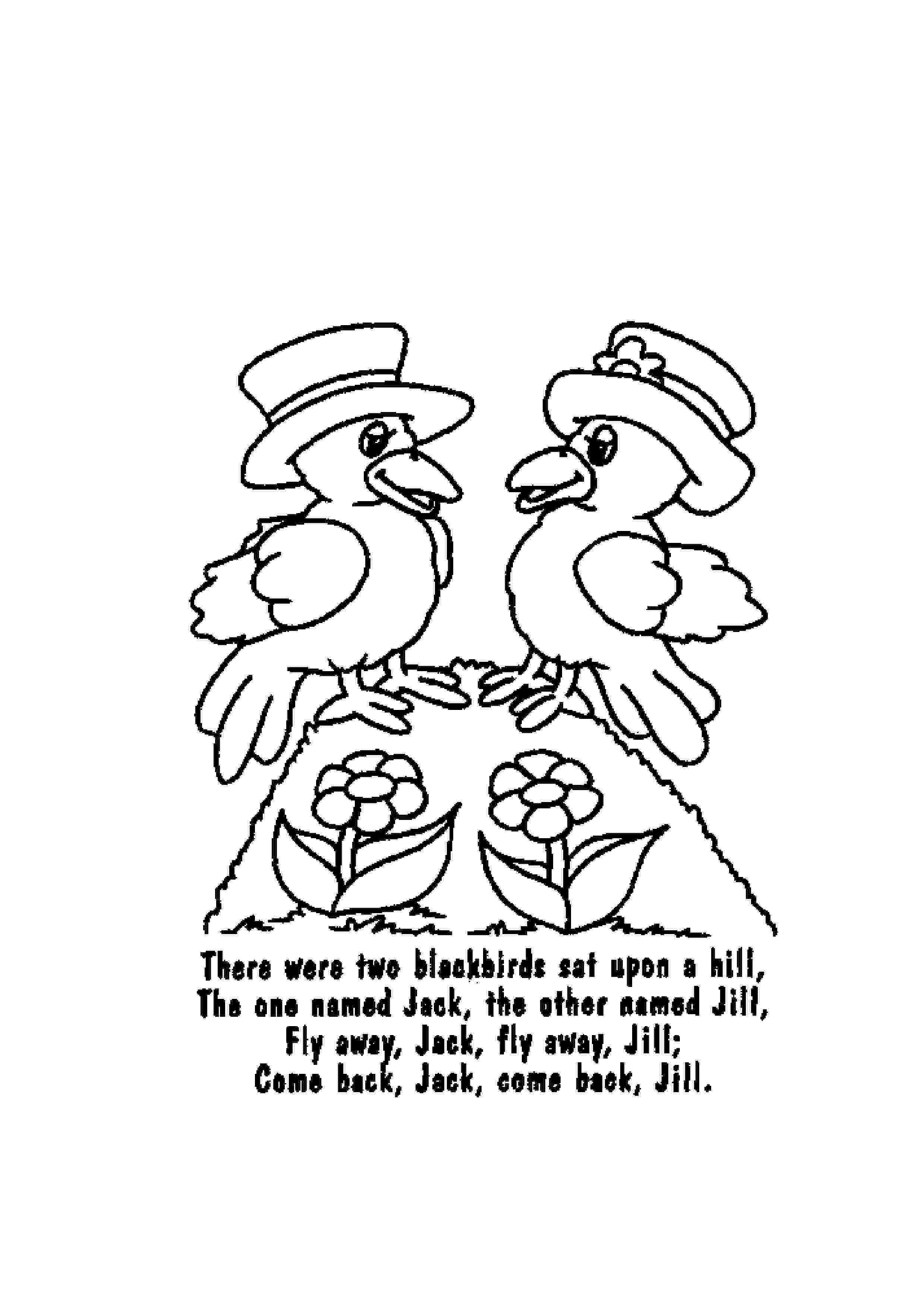 colouring pages for nursery rhymes nursery rhyme coloring pages getcoloringpagescom pages nursery colouring rhymes for