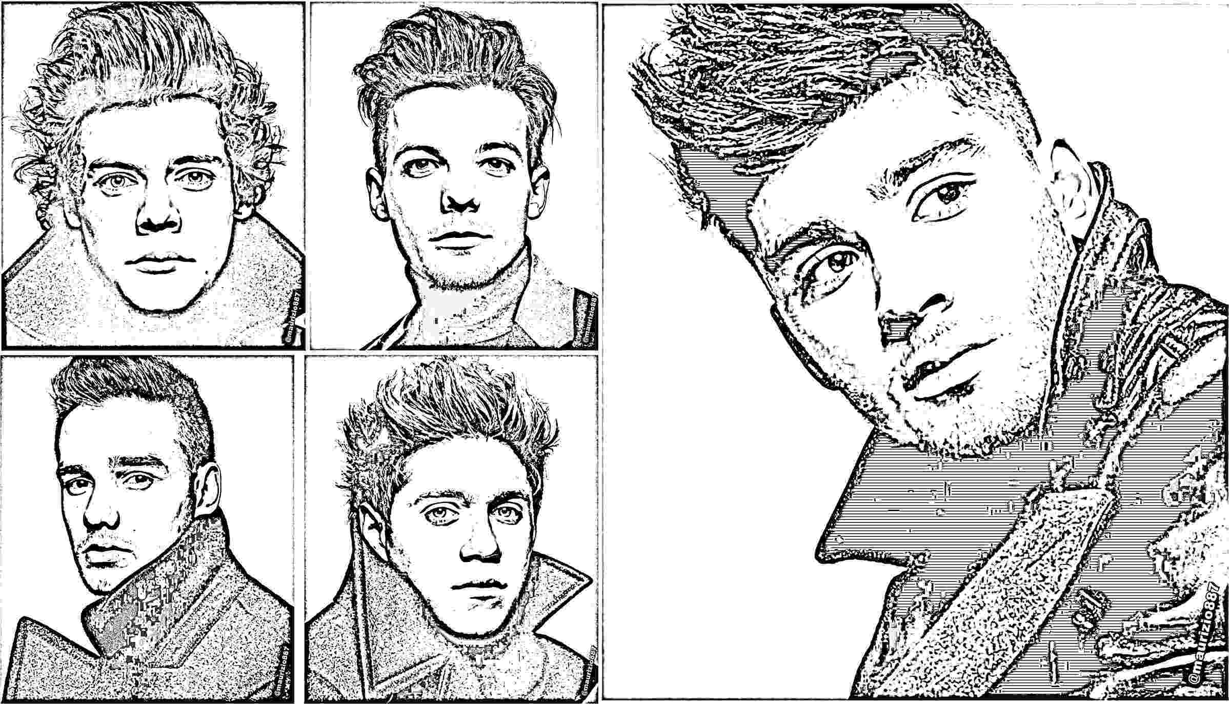 colouring pages for one direction 10 printable one direction coloring pages 9 j 14 direction pages colouring one for