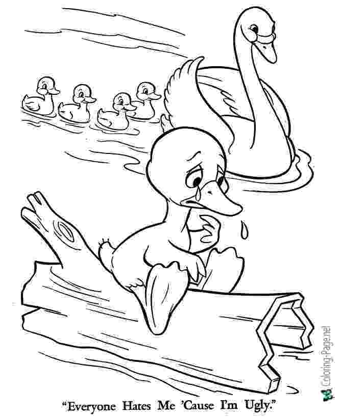 colouring pages for the ugly duckling robin39s great coloring pages the ugly duckling ugly pages colouring the duckling for